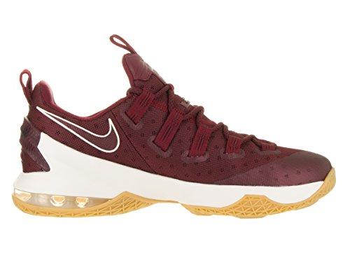 Nike Lebron XIII Low Herren Basketballschuhe Team Rot / Segelschwarz