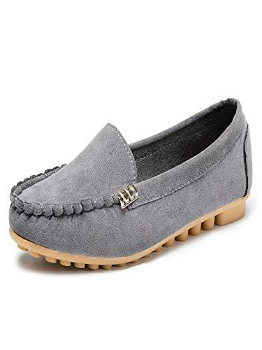 bd8277af17a Goldweather Women Comfy Loafers Ladies Autumn Anti-Slip Slip On Flat Ballet  Boat Shoes (