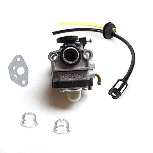 Carburetor & Fuel line kit For Craftsman 4 Cycle Mini Tiller 316.292711