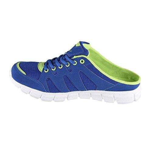 HSM Men's Running Shoes Blue/Green klwZbbJMpk