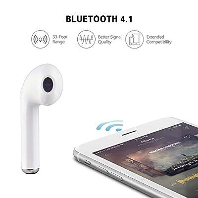 7TECH Bluetooth Earbuds Wireless Headset Earphone Earpiece Mini Headphones Stereo Sound