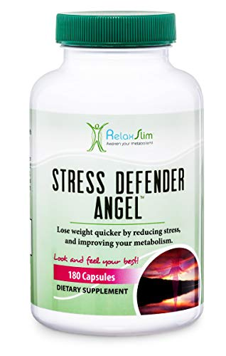 NaturaSlim Anti-Stress Supplement to Improve Your Metabolism, A Weight Loss Specialist All-Natural Remedy for Sleeping and Weight Loss Difficulties Caused By High Levels of Cortisol Produced by Stress