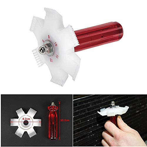Colorfulworld Universal 6 in 1 Fin Comb Straightener Cleaner Automotive A/C Radiator Air-Conditioner Evaporator Tools Condenser