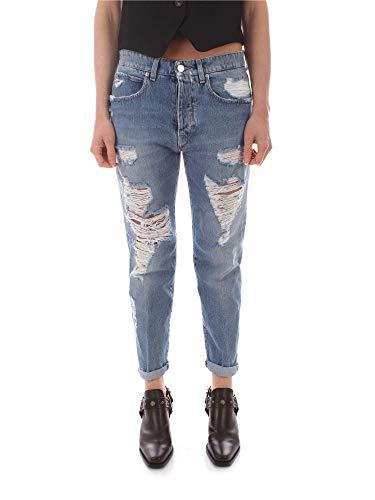 Uvtk7 Mujer Women 60001 Jeans Azul Two EIqSAZEw