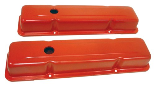 1958-86 Chevy Small Block 283-305-327-350-400 Tall Steel Valve Covers - ()