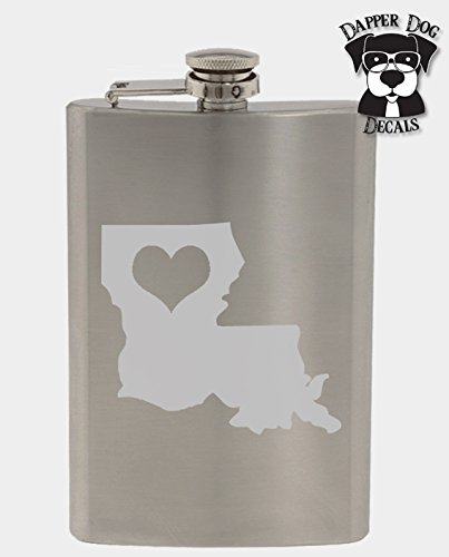 Louisiana Pride I Heart My State Art Personalized