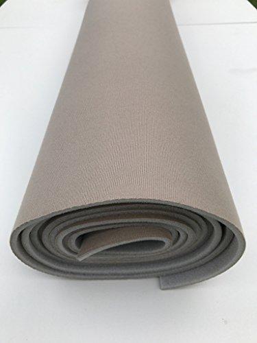 Headliner Doctor DIY repair fabric compatible with Chevy Blazer-MEDIUM TAN-108