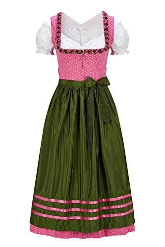 Original Steindl München-Salzburg Dirndl 3/4 lang-3tlg. Damen rosa-40