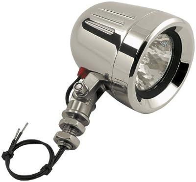 Trail Tech (50W-FL) Silver 50W Single MR16 Post Mount Halogen Flood Light
