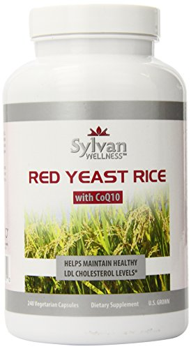 Sylvan Wellness Red Yeast Rice with CoQ10, 240 Count