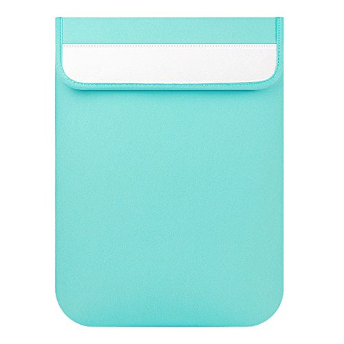 TOOGOO(R) Sleeve Case For Macbook Laptop AIR PRO Retina Model 4 Mint Green Vertical Sleeve case 13""