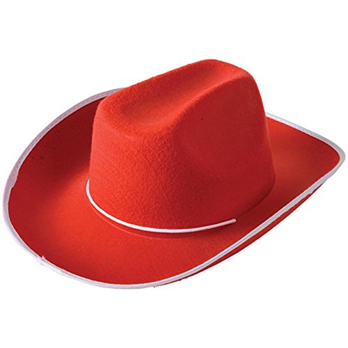 US Toy Cowboy Hat Costume, Red]()