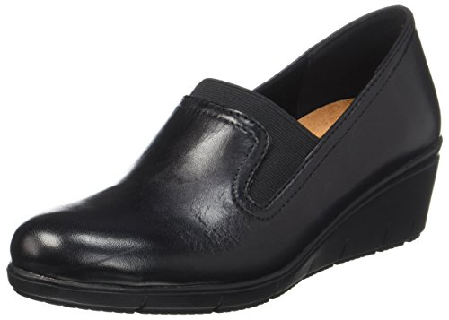 Caprice Women's 24701 Loafers Black (22) 2thqTkWh