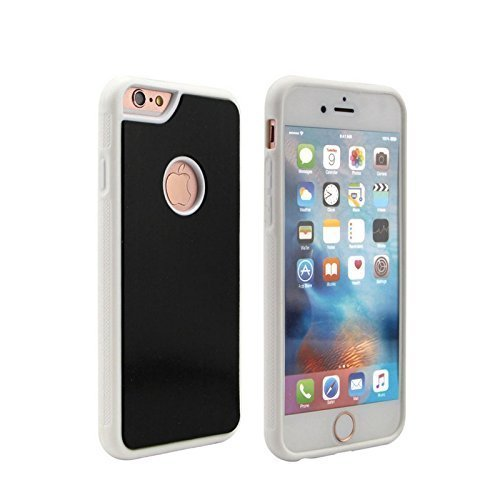 iPhone 6/6s GOAT/Anti Gravity Case. Quality Only Guaranteed if Purchased Through Accessory Crunch. Case Sticks to Glass, Tile, Smooth Surfaces - BLACK ON WHITE - PRIME! - Anti Goat