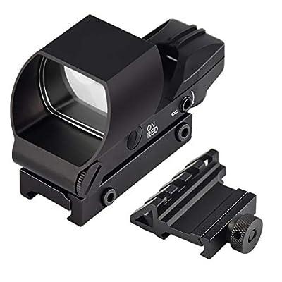 Feyachi Reflex Sight - Red & Green Dot Gun Sight Scope