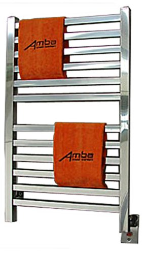 Amba Q 2033 B Quadro 20-1/2-Inch x 33-Inch Towel Warmer, Brushed