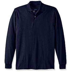 Jerzees Men's Spot Shield Long Sleeve Polo Sport Shirt