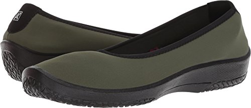 Arcopedico Womens Lolita Slip-On Olive
