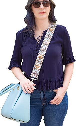 adjustable shoulder straps Give your /'OLD BAG/' the /'GOLD SHOULDER /' treatment
