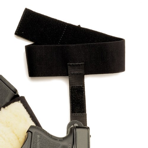 Galco Ankle Glove Calf Strap (Black, Ambi) by Galco
