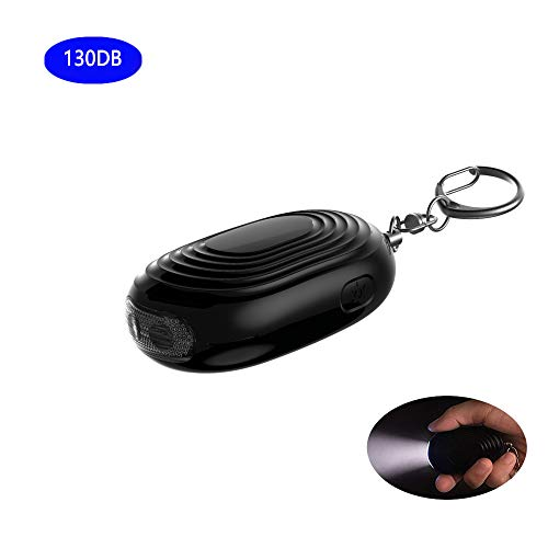 - Personal Safe Alarm, Safesound Keychain, LED Light Lamps, 130 dB, Pocket Guardian Emergency Personal Alarm for Women, Seniors and Kids