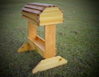 Stand Saddle Wooden - New Handmade Wooden Cedar Saddle Rack W/Tray