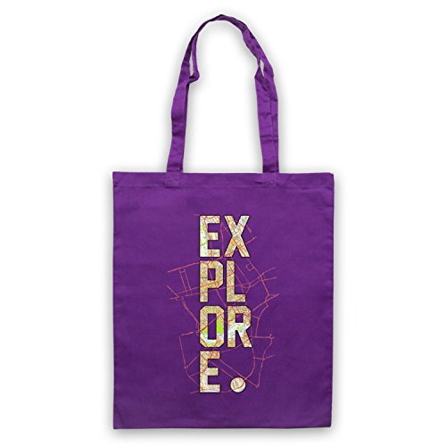 Explore Love Of Travel Bolso Morado