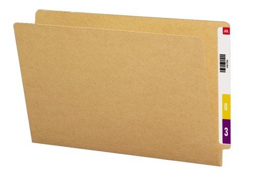 Smead End Tab File Folder, Straight-Cut Tab, Legal Size, Kraft, 50 per Box (27400) by Smead