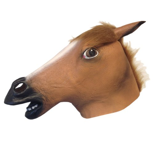 Off the Wall Toys Horse Head Mask Super Creepy]()