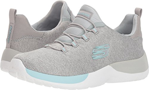 Skechers US Mujer Gris Dynamight C 8 Claro Breakthrough Aguamarina rz7rqvZ
