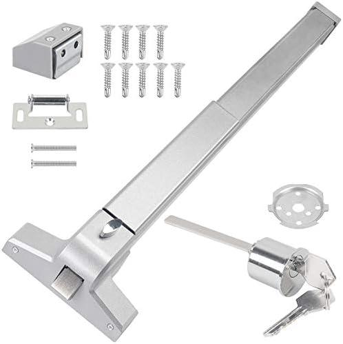 "Door Push Bar Panic Bar Exit Device for Wood//Metal 30/""-36/"" Wide Indoors NEW"