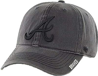 '47 Brand Men's Atlanta Braves Nightfall Adjustable Hat, No Size