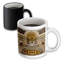 Danita Delimont - Walter Bibikow - Buildings - USA, Oklahoma, Oklahoma City, Oklahoma State Capitol Building interior - 11oz Magic Transforming Mug (mug_192122_3)