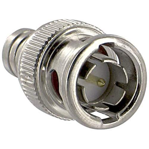 Connector; Crimp; 75 Ohms; Straight; RG59/62; 2-Pc BNC; Male, Pack of 20