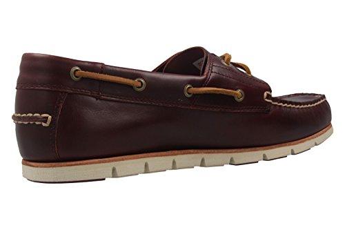 Timberland Herren Bootsschuhe - Tidelands - Bordeaux Schuhe in Übergrößen
