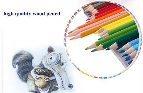 IBayam Color Pencil Coloring Pencils Oil Base Non Toxic