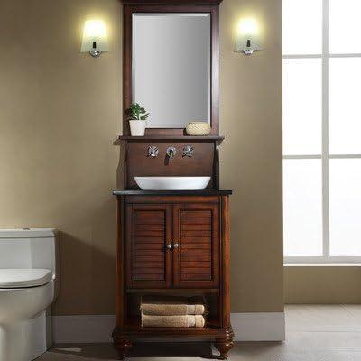Amazon Com Islander 24 Bathroom Vanity Finish Tropical White Kitchen Dining