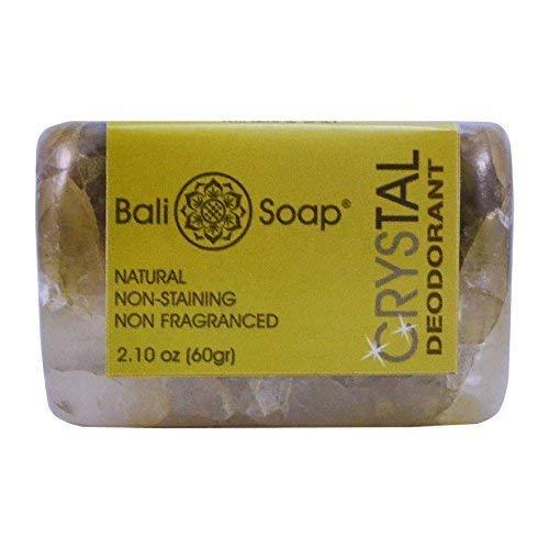 Bali Soap - Crystal Mineral Deodorant, 2.1 Oz each (Pack of 2) ()
