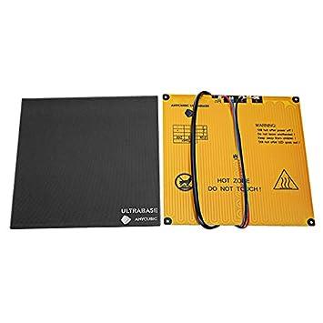 ILS - Plataforma ultrabase Anycubic® 220x220x5.5mm con Cama ...