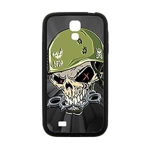 Walking Dead Skull Black Samsung Galaxy S4 case