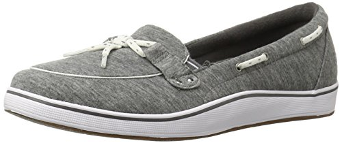 Grasshoppers Women's Windham Fashion Sneaker, Grey, US Charcoal