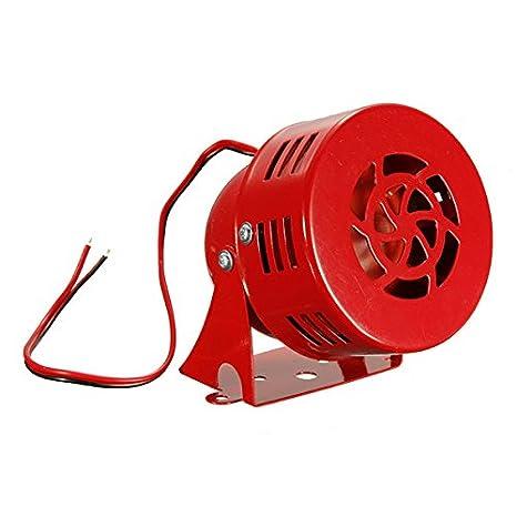 ketobk potente 12 V MS190 Mini Metal alarma zumbador Alarma ...
