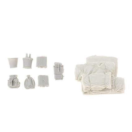 Sharplace 1/35 Resina Cajas / Bolsas Kit de Modelos para DIY ...