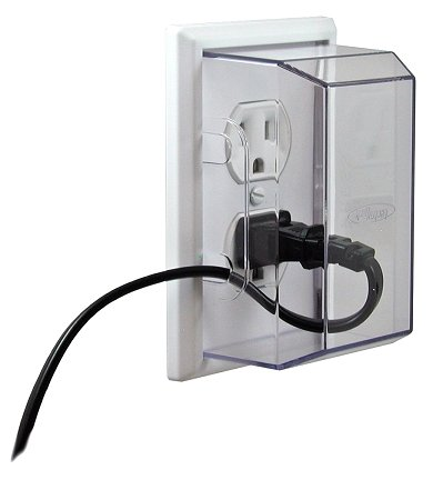 Lectralock Baby Safety Electrical Outlet Cover Duplex