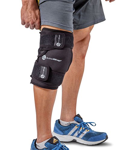 ActiveWrap Knee Wrap Right or Left Knee, Large/X-Large, Black (Freeze Away Large compare prices)