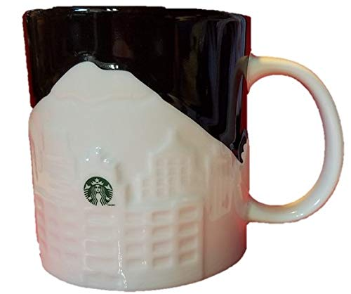 2012 Ceramic Mug - Starbucks 2012 Seattle Relief Mug, 16 Fl Oz