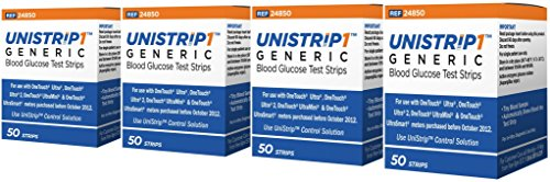 UniStrip Test Strips for Use with Onetouch® Ultra® Meters 200 STRIPS