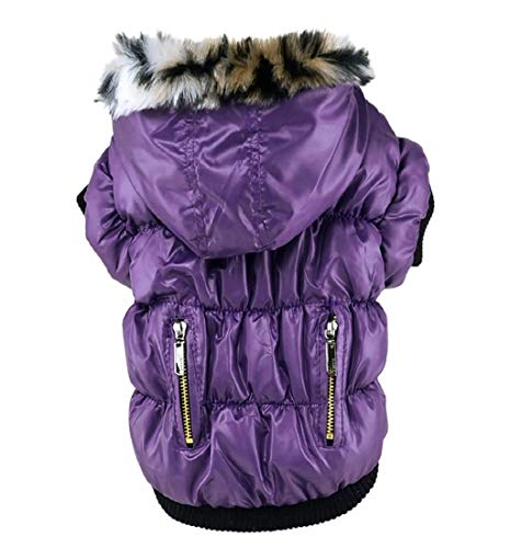 Loneflash Pet Clothes Winter Fashion Comfortable Pet Dog Cat Puppy Costume Jacket Coat Apparel]()