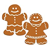 Beistle 2-Pack Gingerbread Cutouts, 14-Inch