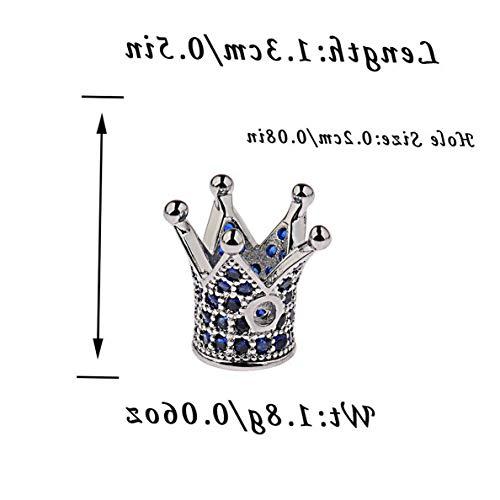 Mikash DIY Zircon Connector Charm Cubic Zirconia Beads Gemstones Bracelets Jewelry Gift   Model BRCLT - 8275  